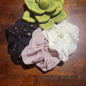Star Scrunchies- 3 Pack