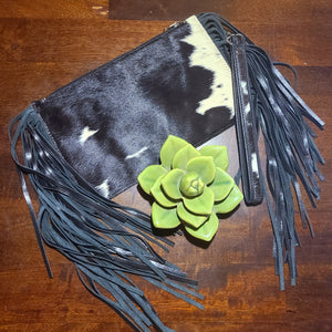 The Bandera Clutch- Black