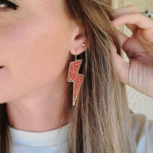 McQueen Earrings- Coral
