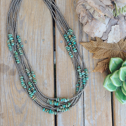 Gourd-geous Green Necklace