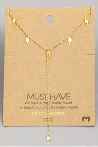 The Striking Lariat- Gold