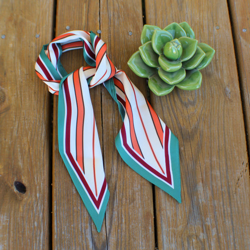 Retro Stripe Wild Rag