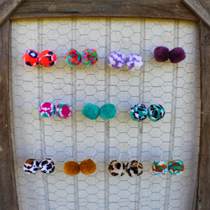 Shake Your Pom Pom Earrings