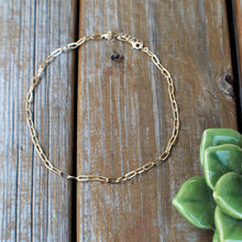 Linked Up Choker- Gold
