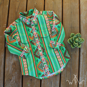 "*PREORDER* TODDLER ""The Sweetgrass"" Button Up"