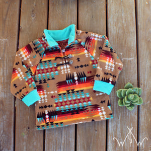 *TODDLER* Southern Sky Punchy Pullover