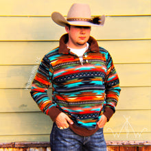 *PREORDER* ADULT Serape Sunset Punchy Pullover