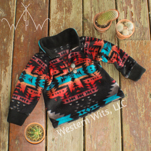*TODDLER* Canyon Sunrise Punchy Pullover
