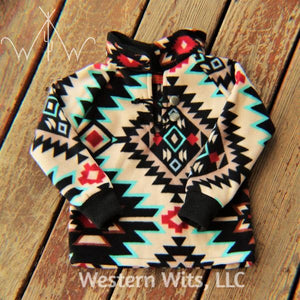 *TODDLER* Desert Days Punchy Pullover