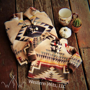 *ADULT* Desert Morning Punchy Pullover