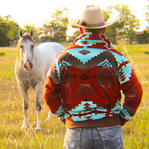*PREORDER* ADULT Red Canyon Punchy Pullover
