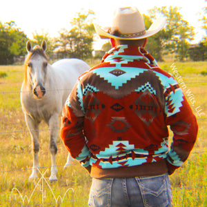 *ADULT* Red Canyon Punchy Pullover