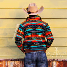 *ADULT* Serape Sunset Punchy Pullover