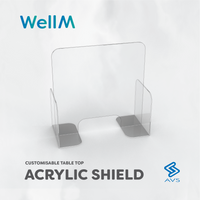WellM Acrylic Shield
