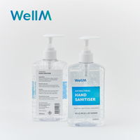 WellM Hand Sanitiser Gel 500ml