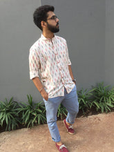 Load image into Gallery viewer, Saadharan Ikat shirt