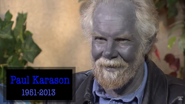 The Blue Man - Argyria