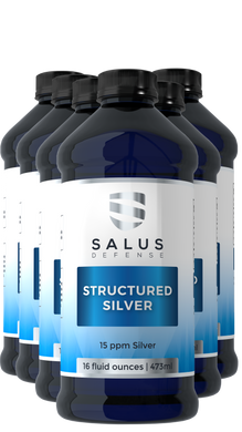 Structured Silver Liquid 6 Pack