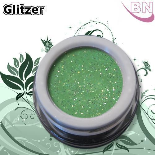 Farbgel Bling Green 5Ml - Beautiful Nails