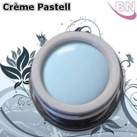 Farbgel Crème Pastell Blau 5Ml - Beautiful Nails