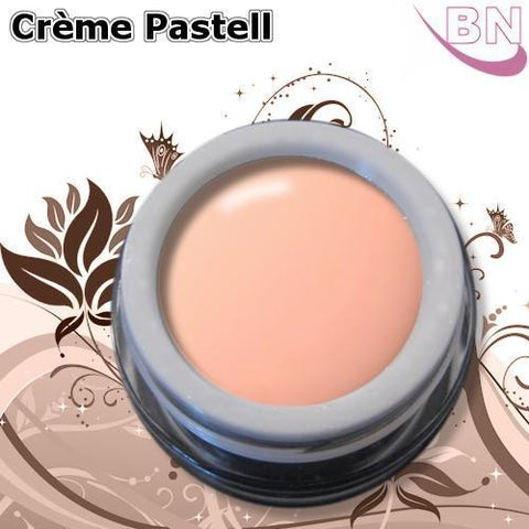Farbgel Crème Pastell Peach 5Ml - Beautiful Nails