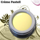 Farbgel Crème Pastell Yellow 5Ml - Beautiful Nails