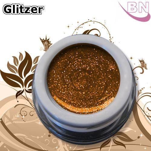 Farbgel Glitter Amber Lights 5Ml - Beautiful Nails