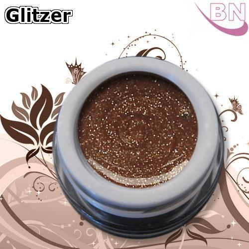Farbgel Glitter Bronze 5Ml - Beautiful Nails