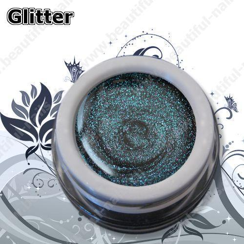 Farbgel Glitter Flip Flop Indigo 5Ml - Beautiful Nails