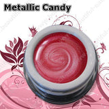 Farbgel Metallic Candy Magenta 5Ml - Beautiful Nails