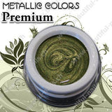Farbgel Metallic Iridescent Green 5Ml - Beautiful Nails