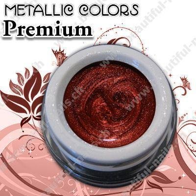 Farbgel Metallic Red Wine 5Ml - Beautiful Nails