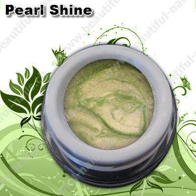 Farbgel Pearl Shine Green 5Ml - Beautiful Nails