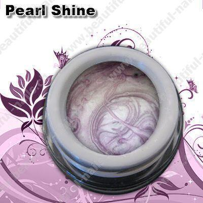 Farbgel Pearl Shine Purple 5Ml - Beautiful Nails