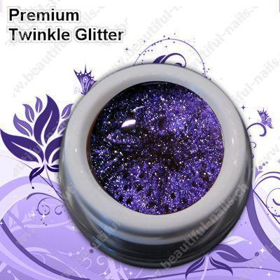 Farbgel Twinkle Heavypurple 5Ml - Beautiful Nails