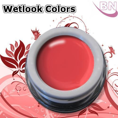Farbgel Wetlook Indian Red 5Ml - Beautiful Nails
