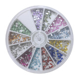 Strass Steine Rondell Mix - Beautiful Nails