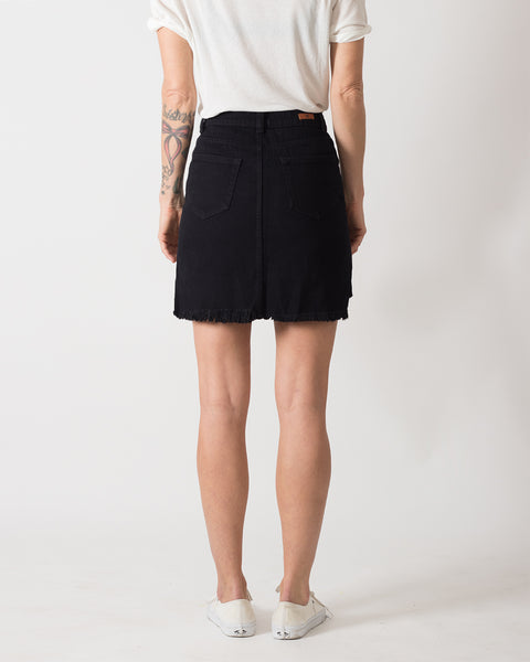 Falda Punk-Me Denim Negro