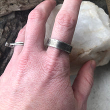 Load image into Gallery viewer, Simple Sterling Silver Wide Band Ring - Made to Order