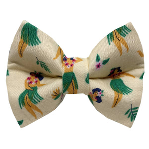 Rose City Pup - Tiki Pup Dog Bowtie