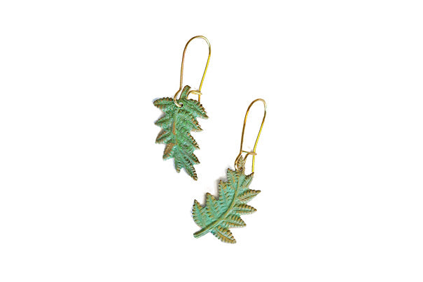 We Dream in Colour - Fern Earrings