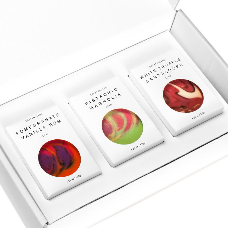 SopranoLabs - Gourmet Collection Soap Trio