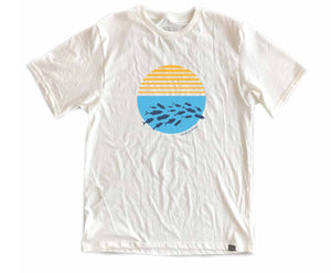 "Mens Carolina ""Ocean Plastic Awareness  Tee"""