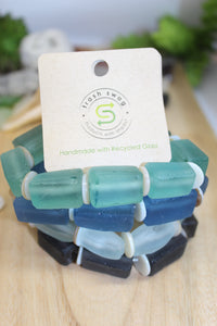 Odyssey Collection- Recycled Glass Bracelets