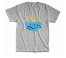 "Youth Aluminum ""Ocean Plastic Awareness Tee"""