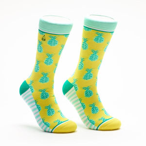 Woven Pear - Pineapple Whip Socks