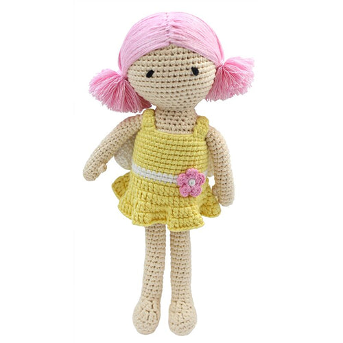 Cheengoo - Lily The Fairy Crocheted Doll