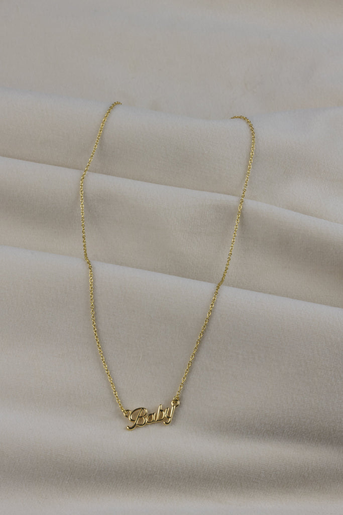 Baby Necklace Gold
