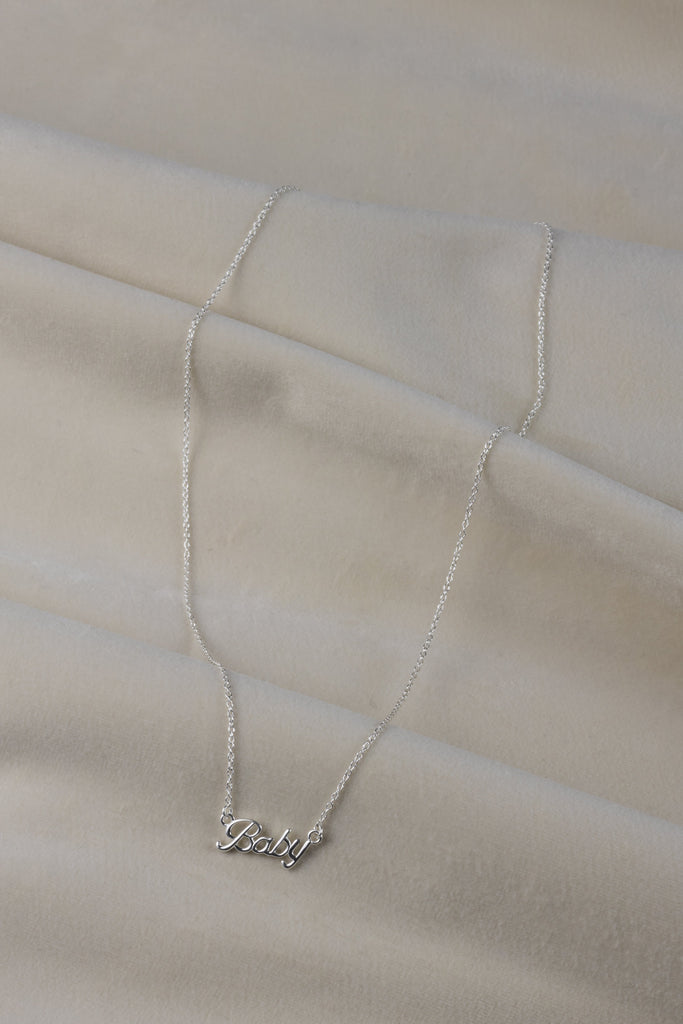 Baby Necklace Silver
