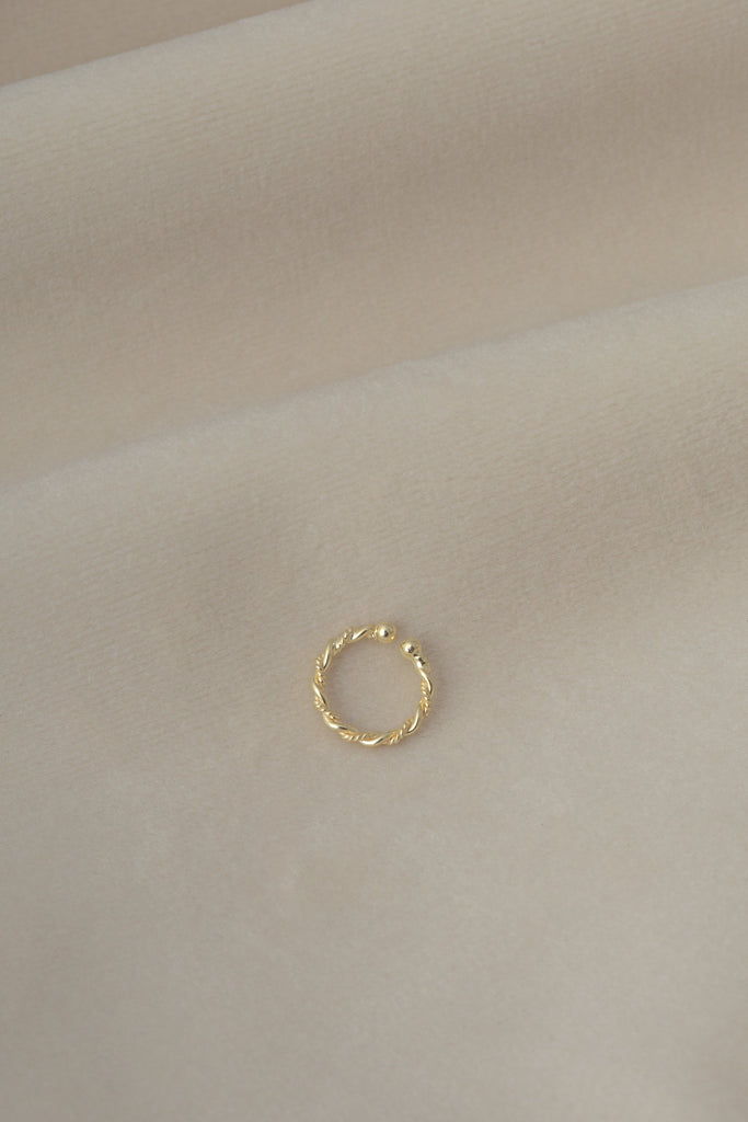 Baby Cuff Gold on textile